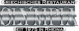 Olympia griechisches Restaurant Mannheim Logo