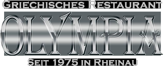 Olympia griechisches Restaurant Mannheim Retina Logo